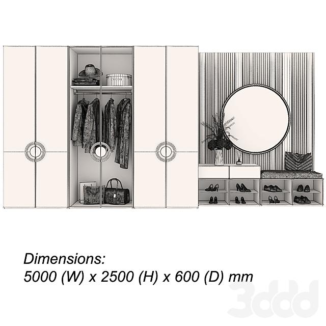 Мебельная композиция 95 часть 1