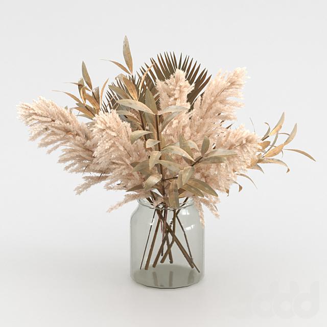 Букет из сухоцвета