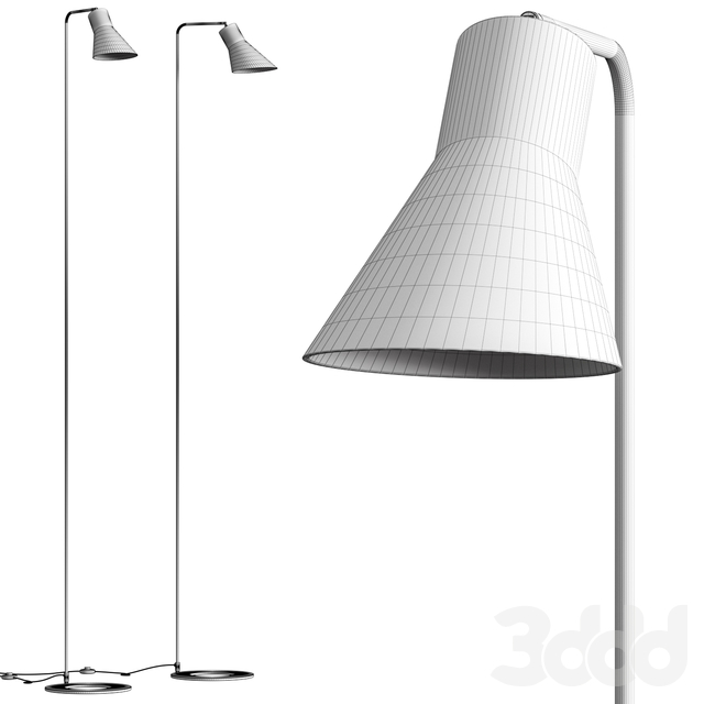 Conico Floor Lamp by Metal Lux