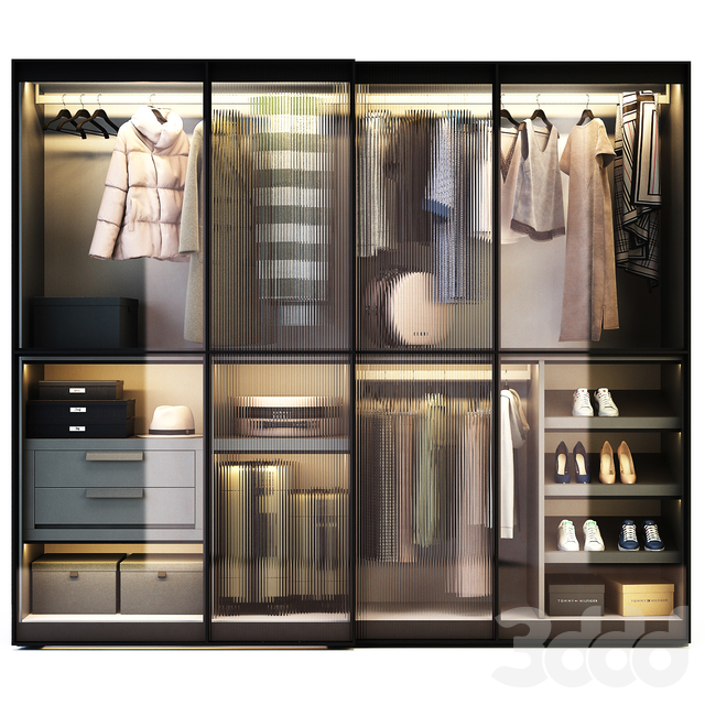 Novamobili Layer Wardrobe
