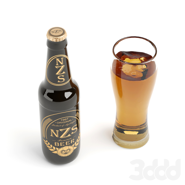 NZS пиво азербайджанского производства