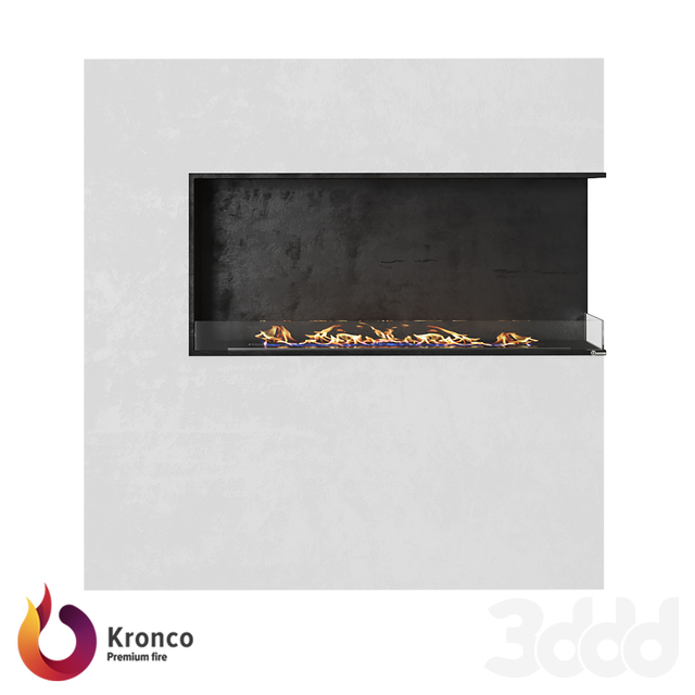 OM - Угловой биокамин Kronco Classik Corner 1200