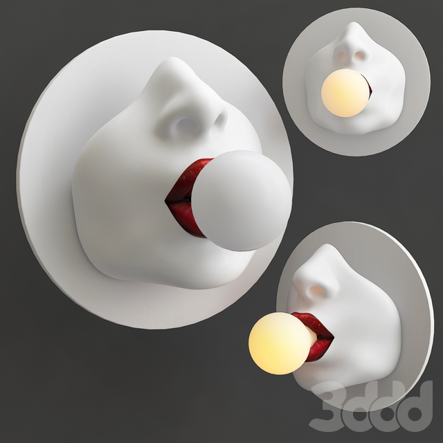 Бра Bulb in the Mouth Wall lamp