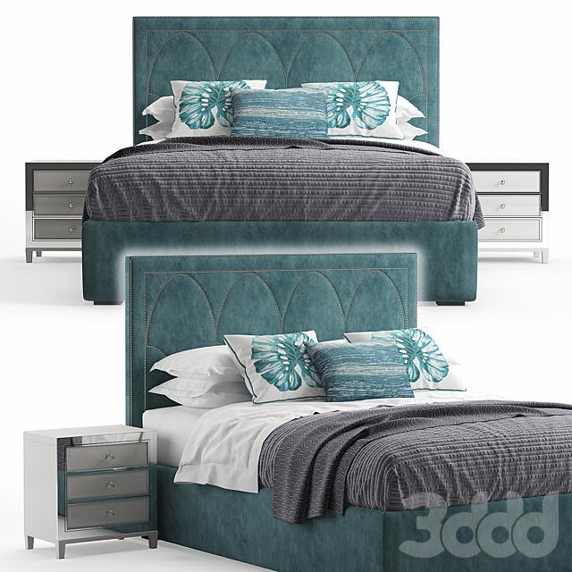 Regan Upholstered King Bed