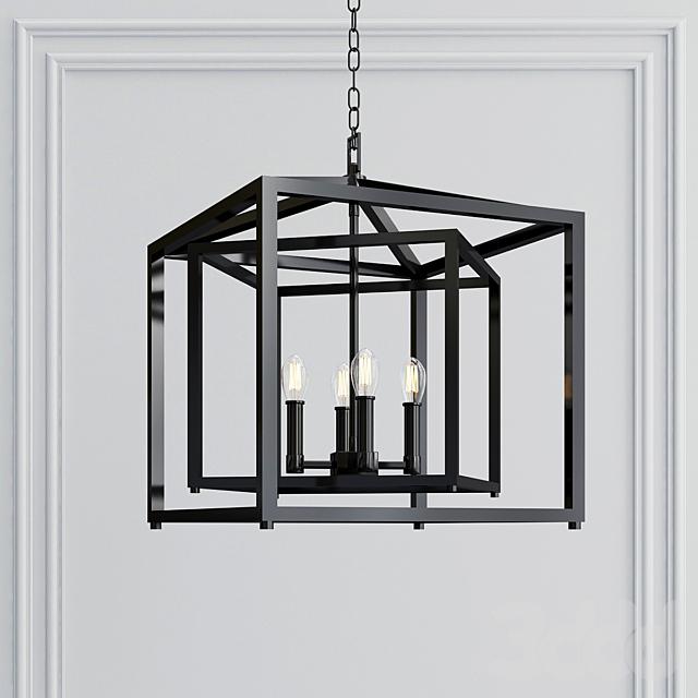 PLAZA 4-light-pendant-chandelier