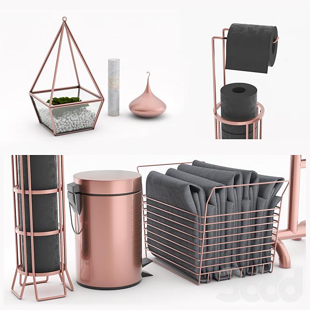 Bathroom Accessories copper 2