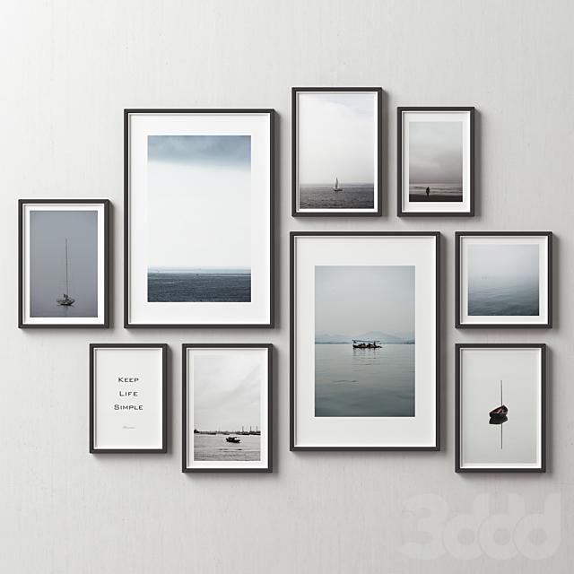 Picture Frames Set -138