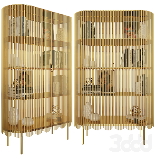 Cabinet Strings Gold/ Blue/Silver Gold by Scarlet Splendour