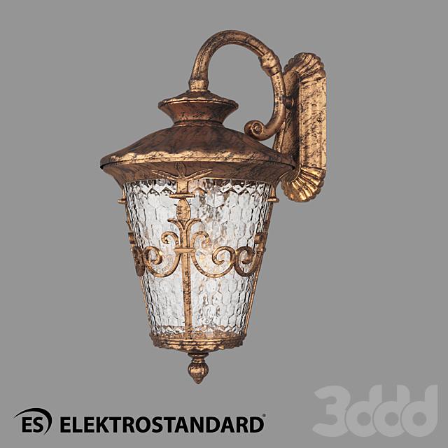 ОМ Уличный настенный светильник Elektrostandard GLYF-8046D Diadema D