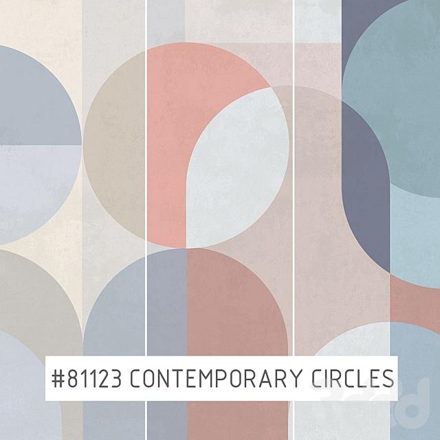 Creativille | Wallpapers | 81123 Contemporary circles