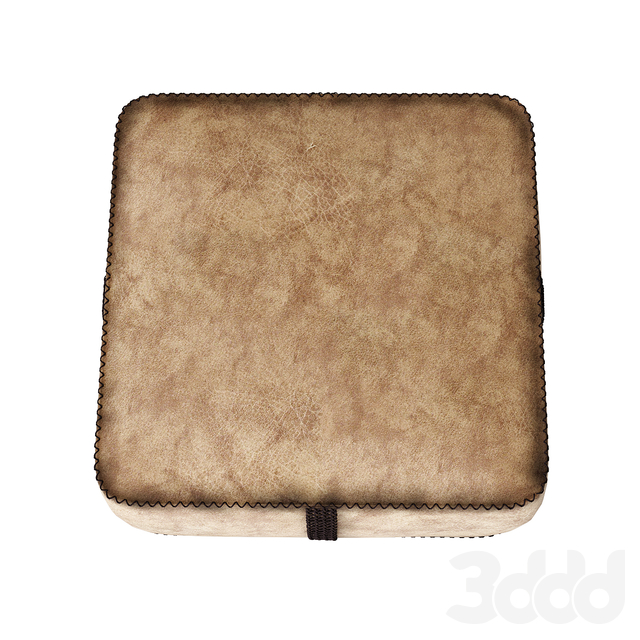 Пуф reGeneration leather ottoman