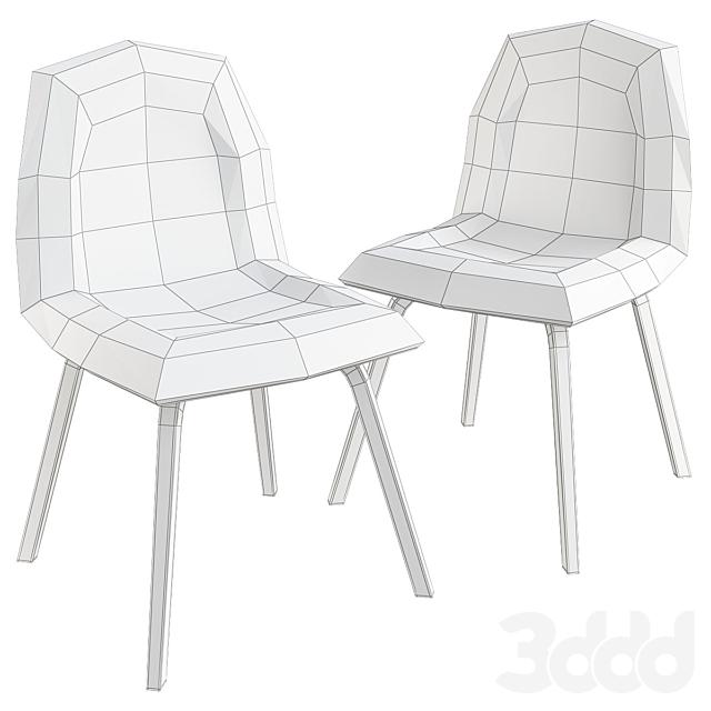 Gubi Chair Designed by Boris Berlin