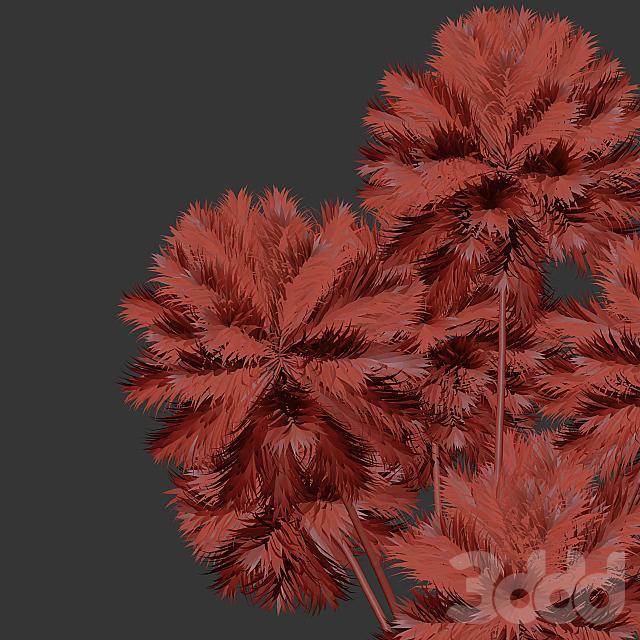 Decor set 10 Artificial onion grass flower