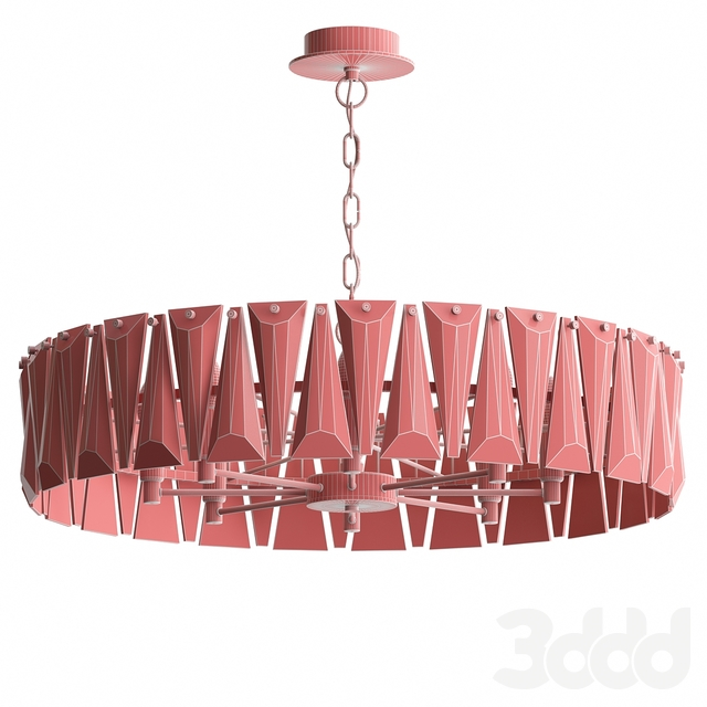 Люстра Ruby Crystal Chandelier Gold 75