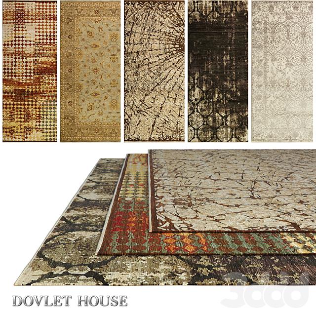 Ковры DOVLET HOUSE 5 штук (part 502)