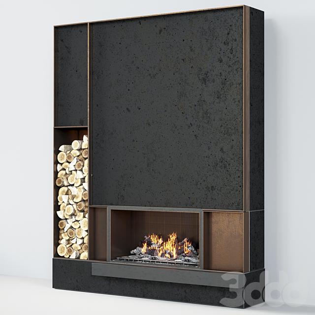 Fireplace modern 42