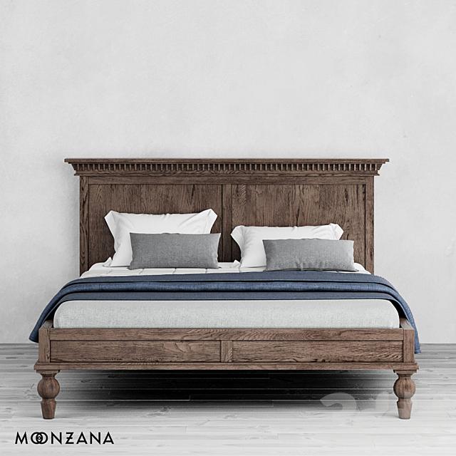 OM Кровать Метрополис Moonzana