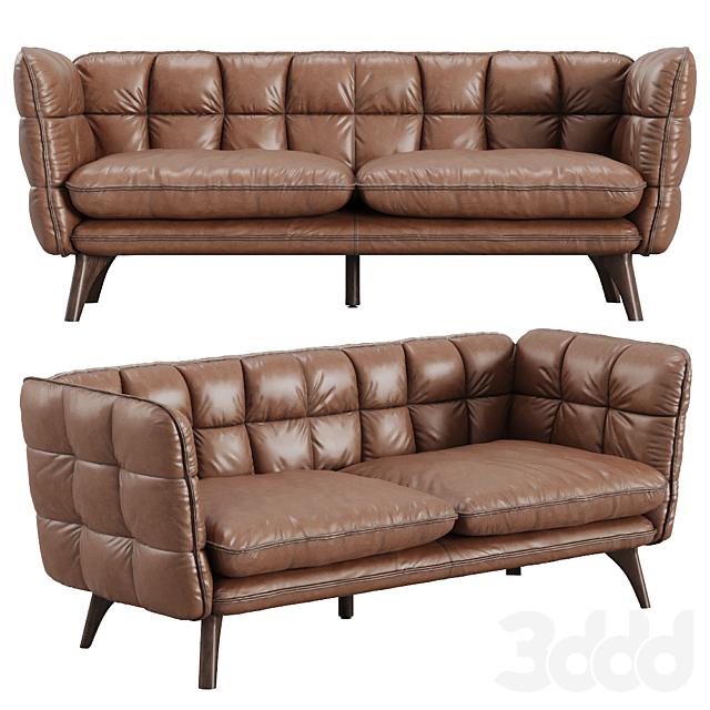 Naashona Genuine Leather Sofa