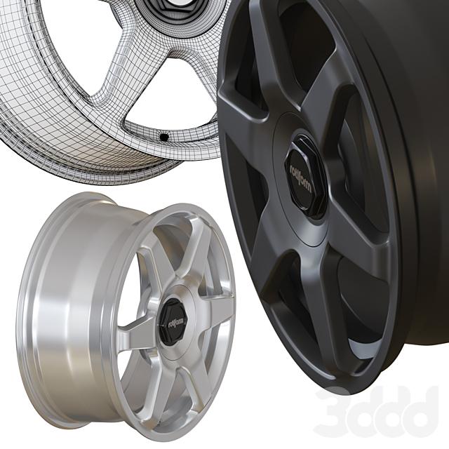 ROTIFORM SIX - автомобильный диск