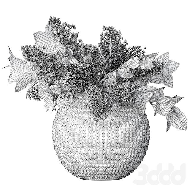 Букет цветов в вазе 61