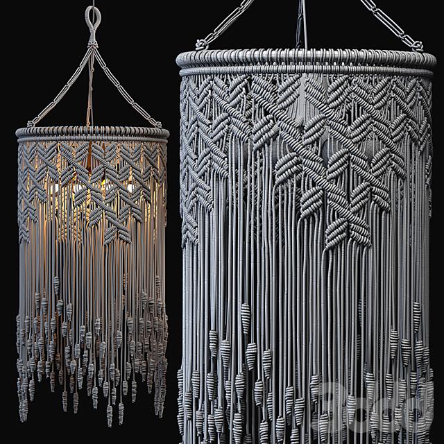 Macrame Pendant Lights