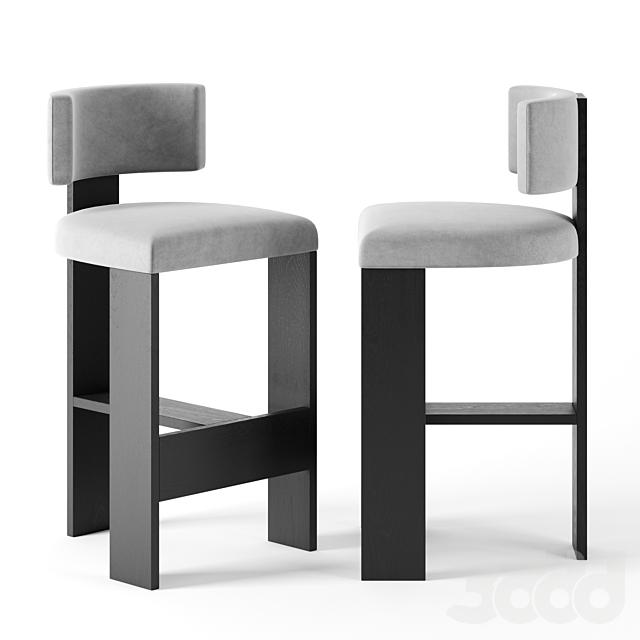 High L Chair by  Nina Seirafi