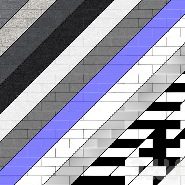 Гранитная тротуарная плитка Тип 6