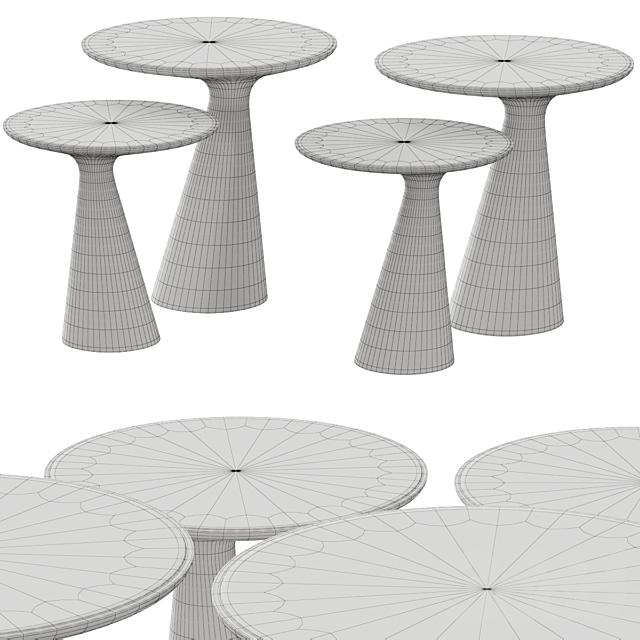 Cattelan Italia Peyote Keramik Coffee & Side Tables