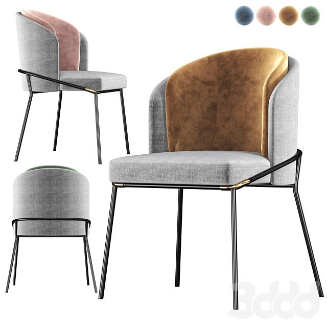 Minotti FIL NOIR Chair
