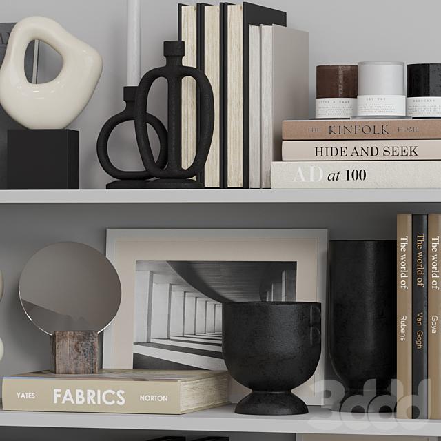 Decor shelf set 9 H&M