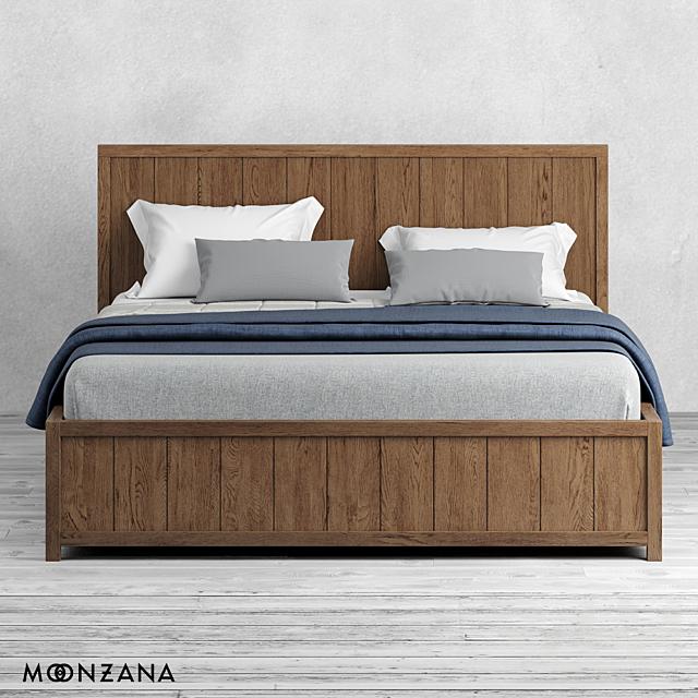OM Кровать Принтмейкер без изножья Moonzana