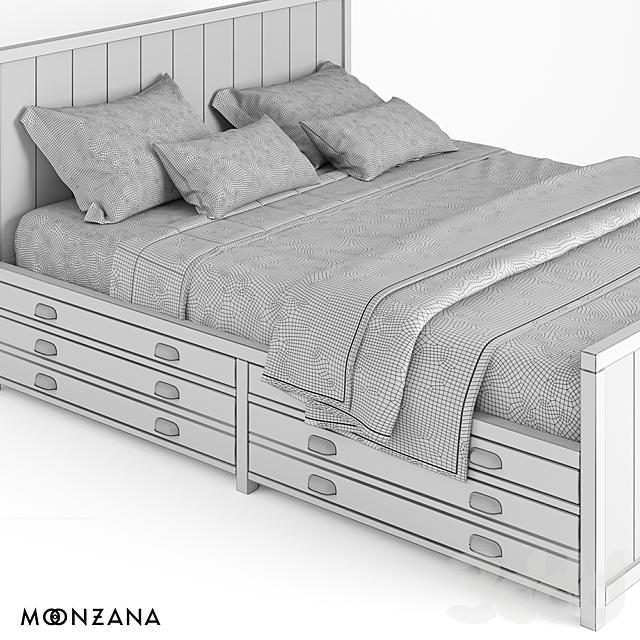 OM Кровать Принтмейкер Moonzana