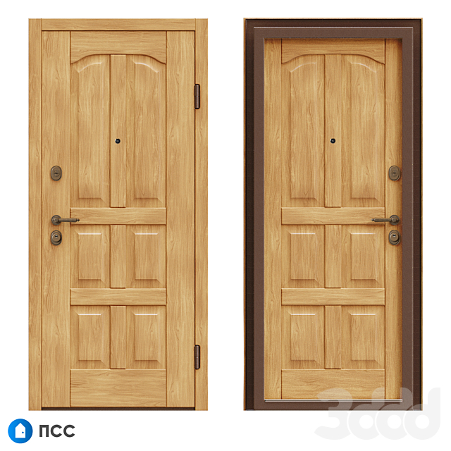 OM Входная дверь ЭКО (ЭКО-67) - ПСС