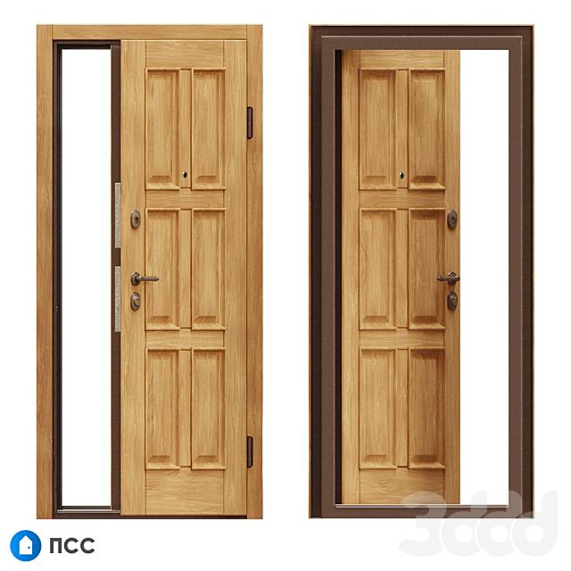 OM Входная дверь ЭКО (ЭКО-80) - ПСС
