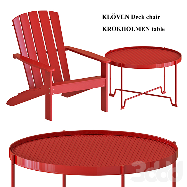 Outdoor Table and Chairs set 2