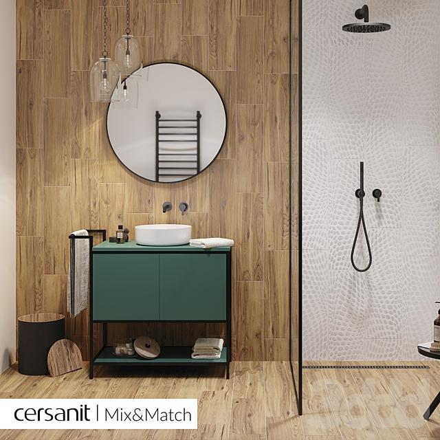 Cersanit Organicwood коричневый рельеф 18,5x59,8 А15928
