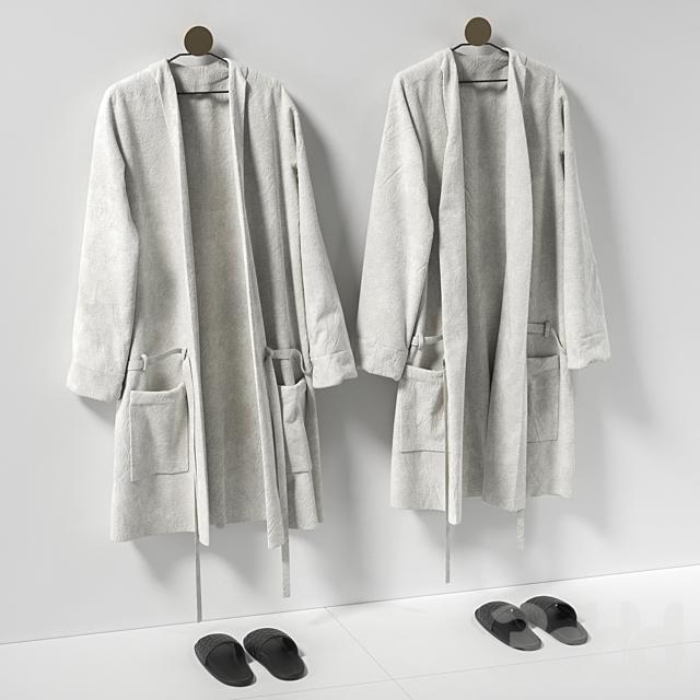 Халаты и тапки для ванной