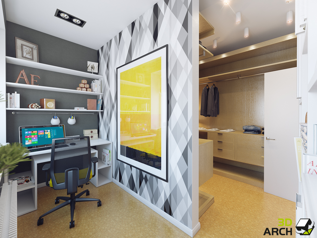 Мой дом - мой офис: как обустроить рабочее место дома - n1.Ч.
